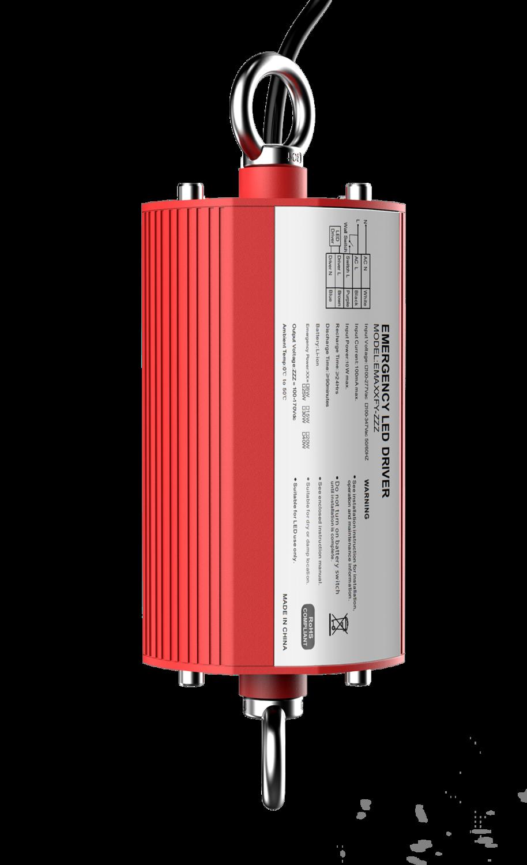 PROLUCE® Notlicht-Kit UFO IP65 120-277VAC, Batterie Li-ion, 30W Konstantleistung, 3 Std.