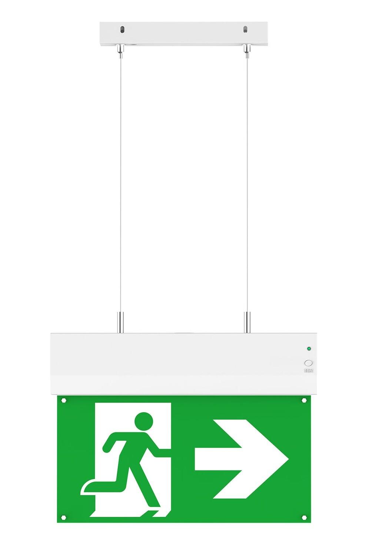 PROLUCE® Montagekit als Hängeleuchte für, Notleuchte EX1 (2 Seile, 30 cm lang)