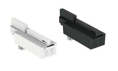 PROLUCE® LED Notleuchte EM7 mit Stromschienen-, adapter, schwarz, 240V, 3 Std., Auto-Test