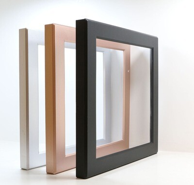 ProLuce® Farbring schwarz, quadratisch,, zu CIRCOLO S22, mit Aussparung für Sensor