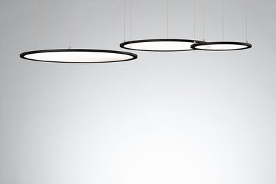 ProLuce® LED Panel TONDO/C Ø900 mm, horiz., 72W, 7920 lm, 4000K, 0-10V,  100°, weiss