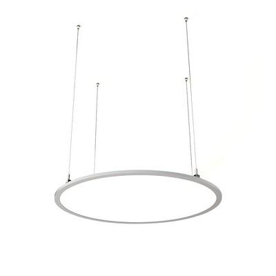 ProLuce® LED Panel TONDO/C Ø1000 mm, horiz., 90W, 9900 lm, 2700K, DALI, 100°, silber