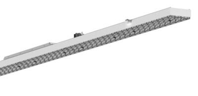 PROLUCE® OCA LED Notlicht Modul 73W, Batt. Modul, 1437 mm, weiss, n.dimmb., 12000 lm, 5000K, 30°