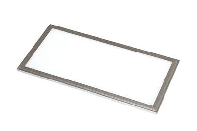ProLuce® LED Panel PIAZZA SP 295x1195x10 mm 48W, 4000K, 4320 lm, 110°, IP20, silber, nicht dimmbar