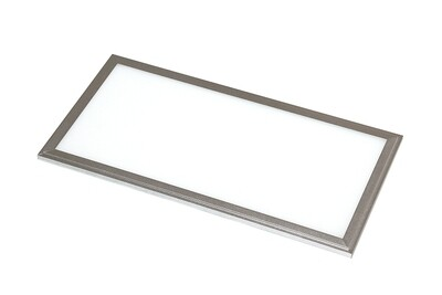 ProLuce® LED Panel PIAZZA SP 145x1195x10 mm 36W, 2700K, 3240 lm, 110°, IP20, silber, 0-10V dimmbar