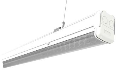 PROLUCE® OCA/S54 Einzelleuchte 1437mm, 75W, 5000K, Notlicht, 11680 lm, Cri>80, 90°, on/off