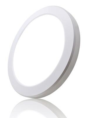 ProLuce® Aufbauleuchte CIRCOLO R22, 18W, Ø220x18 m, Tri-Color, 1350-1550lm, PIR Sensor