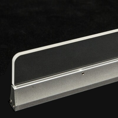 ProLuce® TACCOLA, 1000x17x100 mm, 25W, 2250 Lm, 5000K, CRI>80, ALU/PMMA, on/off