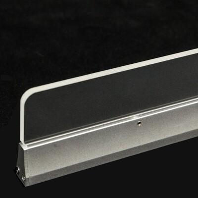 ProLuce® TACCOLA, 1000x17x100 mm, 25W, 2250 Lm, 6000K, CRI>80, ALU/PMMA, dimmbar 0-10V