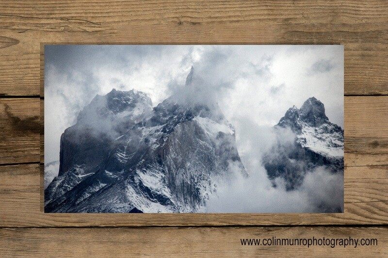Torres Del Paine 24 x 14 Giclee