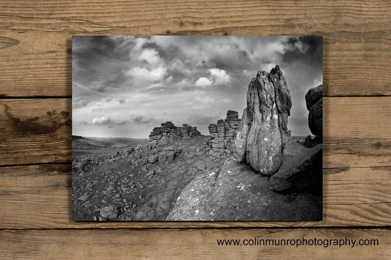 Hound Tor, Dartmoor 24 x 16 Giclee