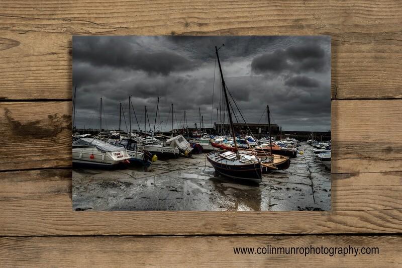 The Cobb, Lyme Regis 16 x 24 giclee print