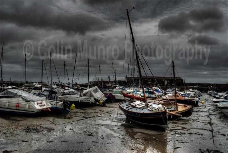 The Cobb, Lyme Regis 16 x 24 Canvas wrap