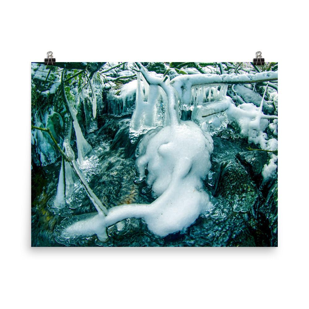 Ice on Dartmoor