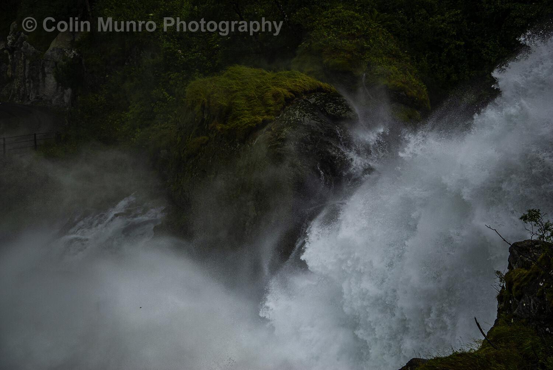Kleivafossen waterfall. 16 x 24 giclee print
