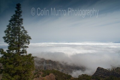 Above the clouds, Santo Antao, Cabo Verde. 16 x 24 Canvas wrap