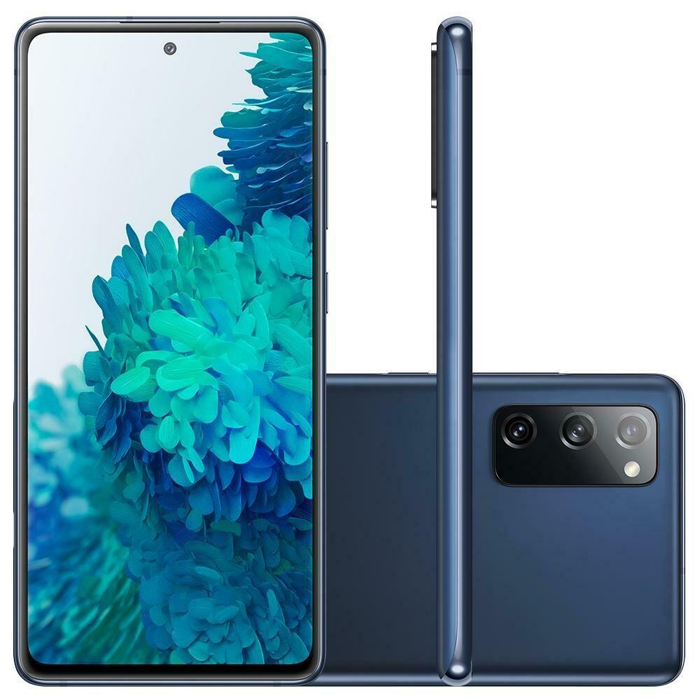 Smartphone Samsung Galaxy S20 FE, 256GB, 32MP, Tela 6.5´, Cloud Navy