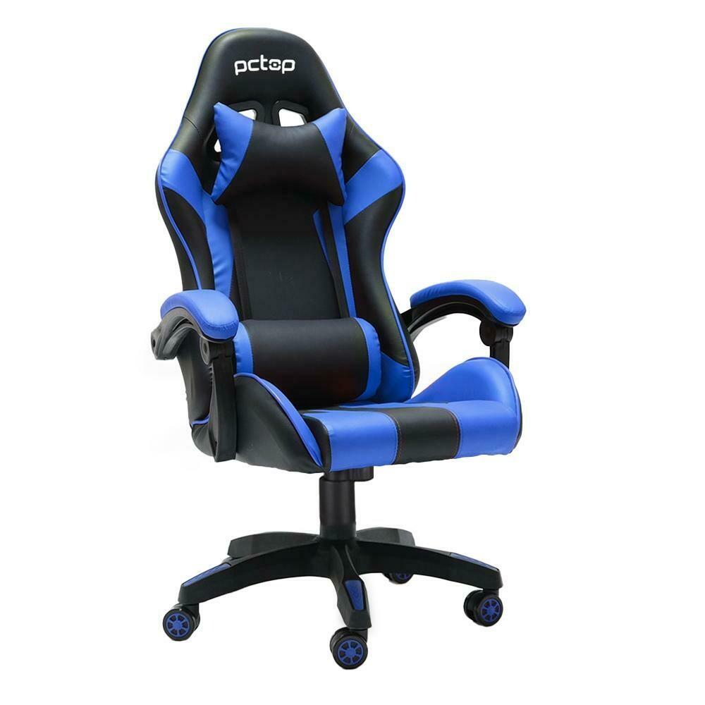 Cadeira Gamer PCTOP Azul