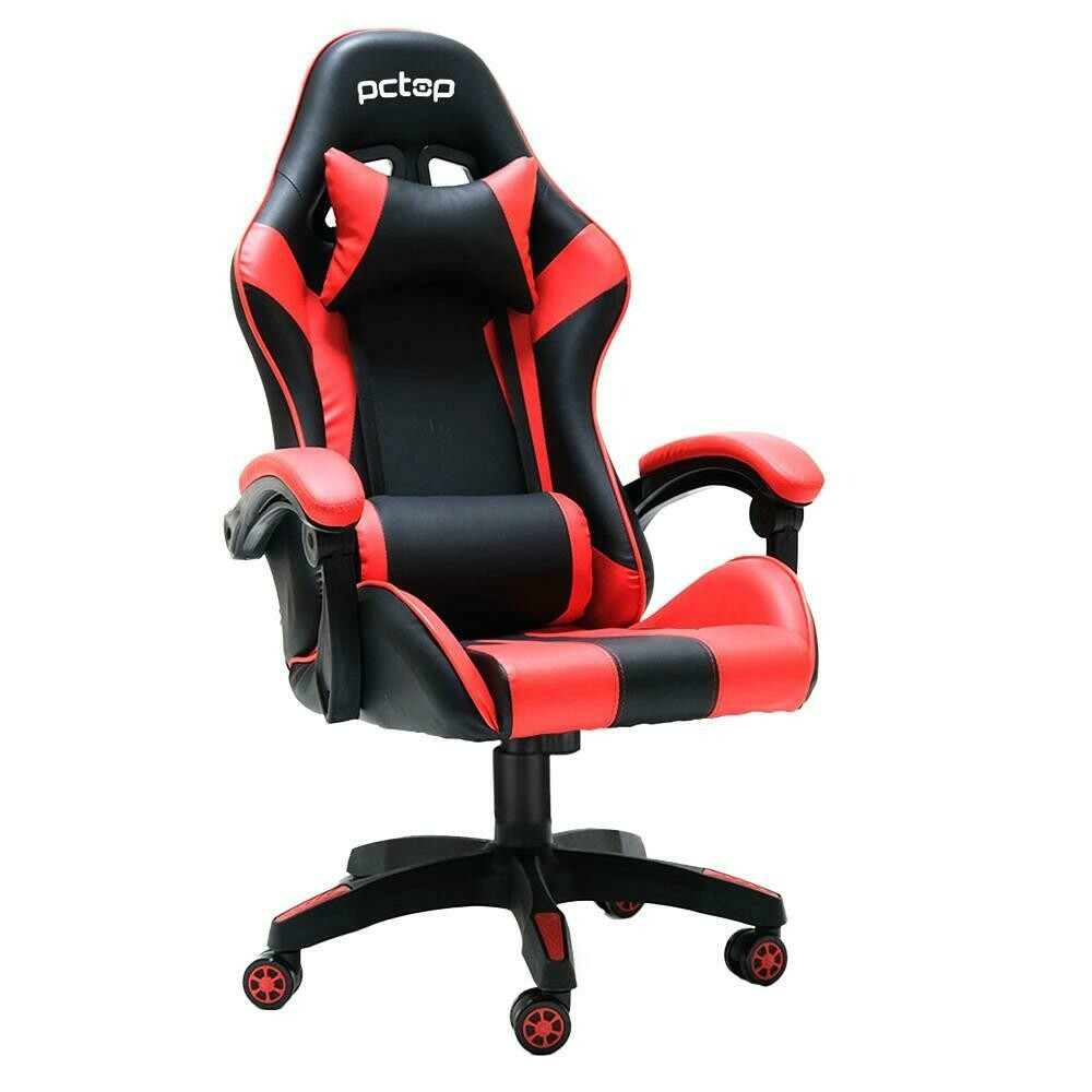 Cadeira Gamer PCTOP Vermelha