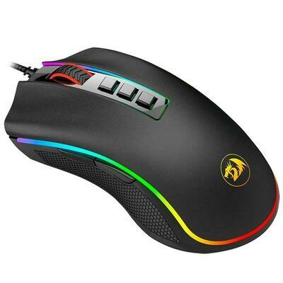Mouse Gamer Redragon Cobra, 10000DPI, Chroma, Preto - M711