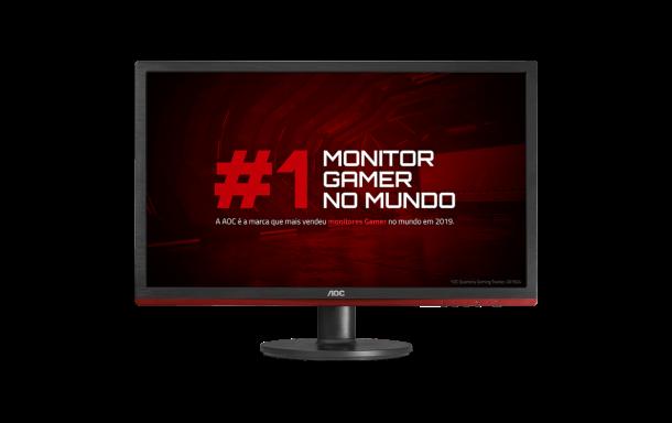 "Monitor Gamer AOC Speed G2260VWQ6 21,5"" LED - Widescreen Full HD HDMI VGA 83Hz 1ms"