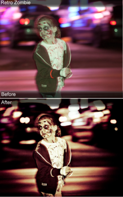 Zombie Lightroom Prests
