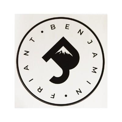Sticker BenJ Friant Blanc