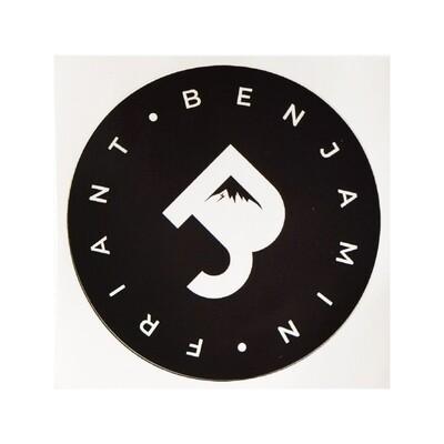 Sticker BenJ Friant Noir