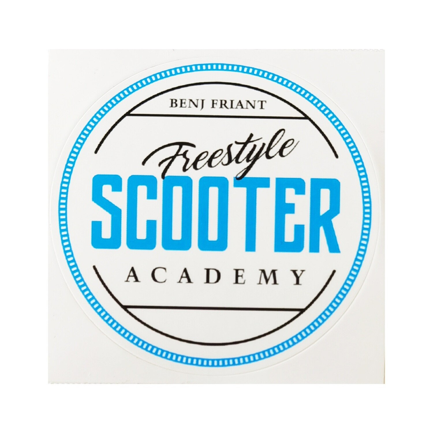 Sticker Freestyle Scooter Academy