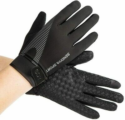Men's Workout Gloves (Full Finger Gloves / Washable)