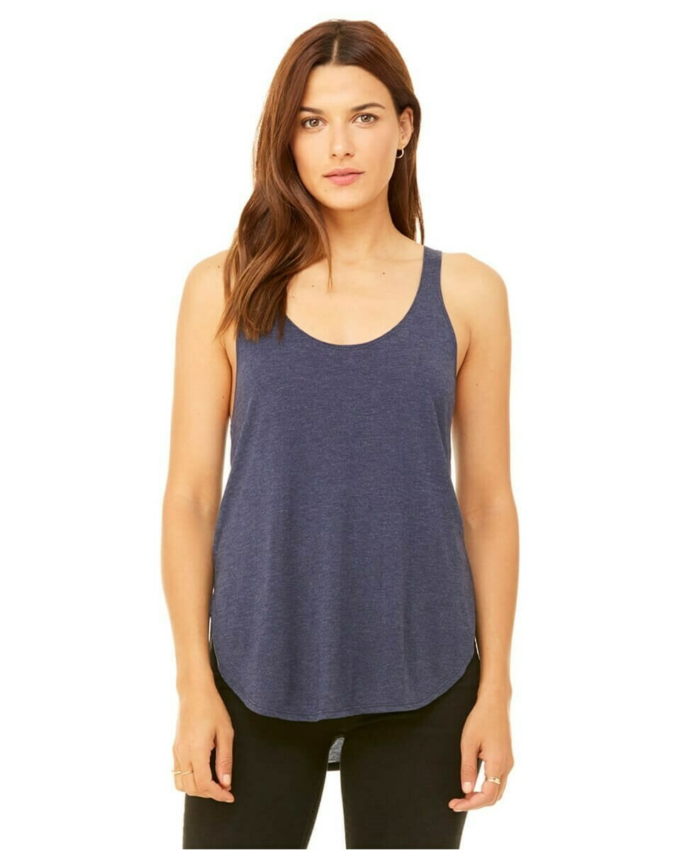 Women's Flowy Side Slit Tank Top