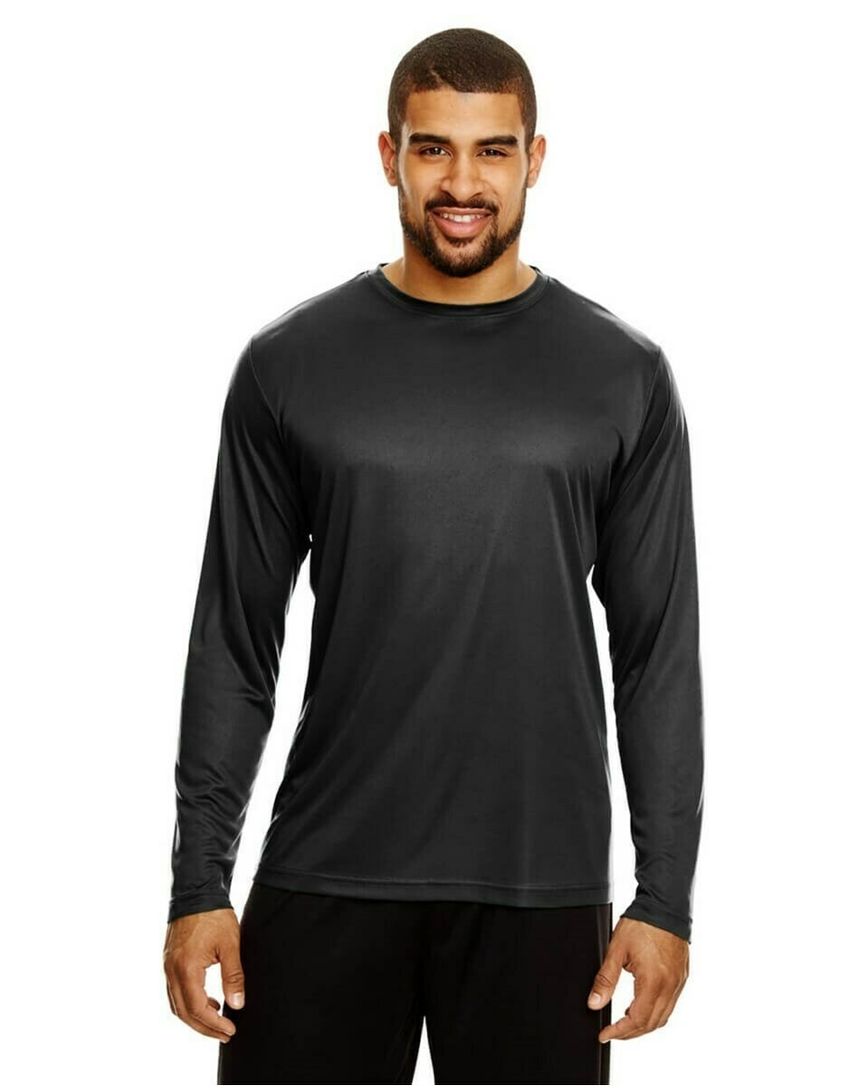 Men's Performance Lightweight Long Sleeve T-Shirt with UV Protection