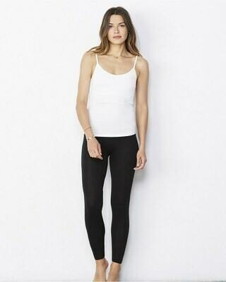 Women's Legging with Elastic Waistband and No Sideseam