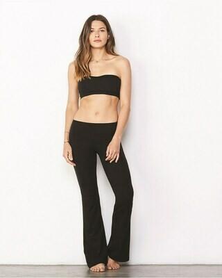 Women's Yoga Pants with Slightly Flared Leg Opening