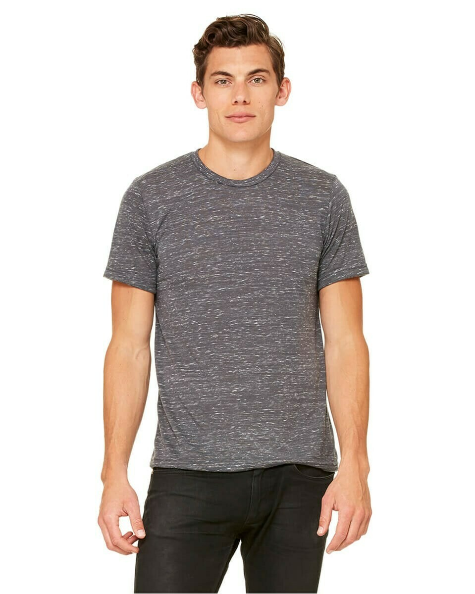Men's Lightweight Slightly Fitted Soft Poly-Cotton Short-Sleeve T-Shirt