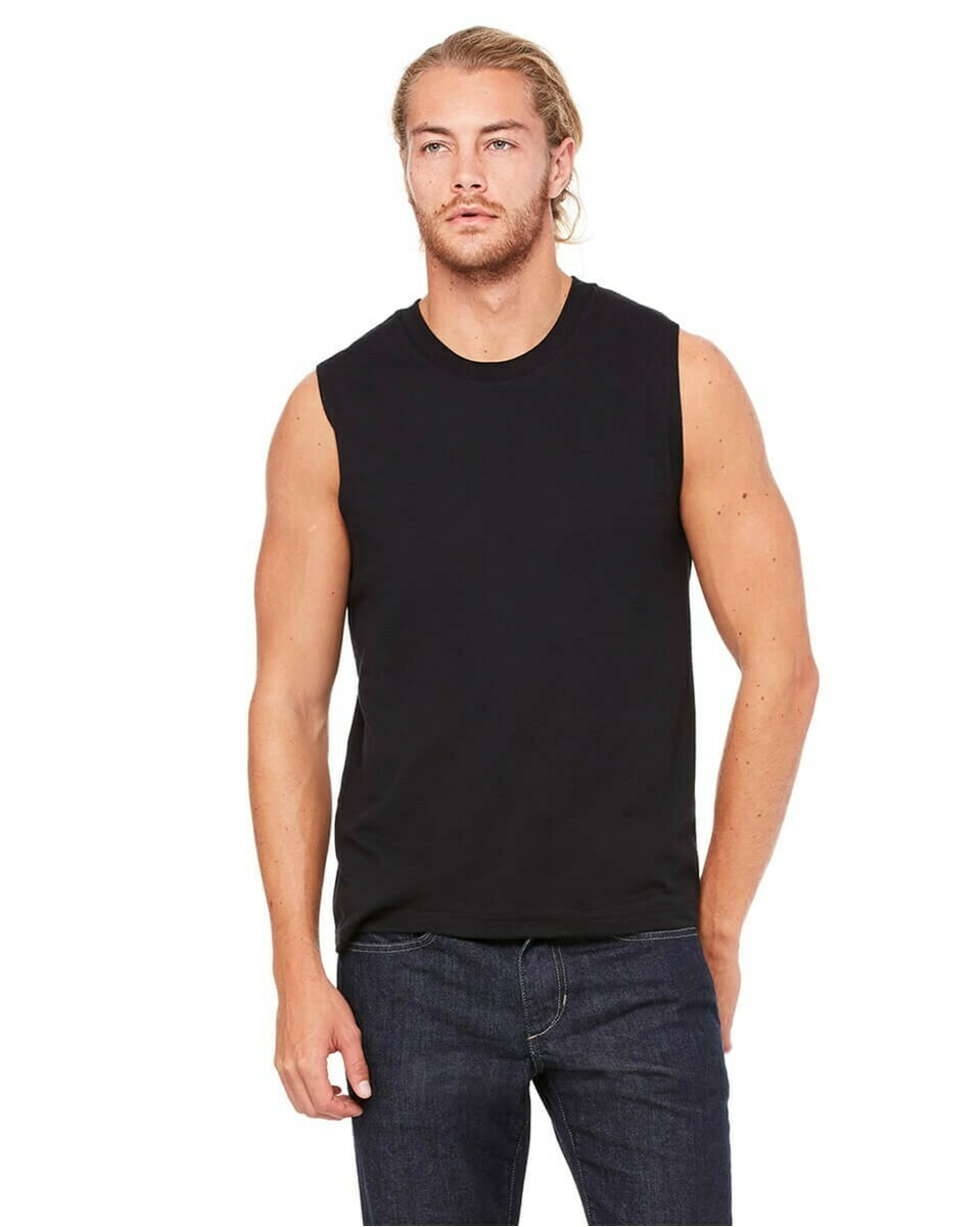 Men's Slightly Fitted Muscle Tank Top