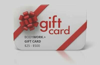 Gift Card Order Form