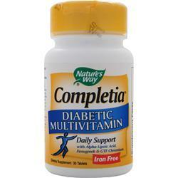 NATURES WAY Completia Diabetic Multivitamin (Iron Free)