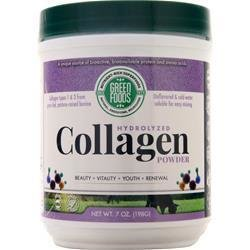 GREEN FOODS Hydrolyzed Collagen Powder (with collagen 6600mg, calories 22, protein 6g)