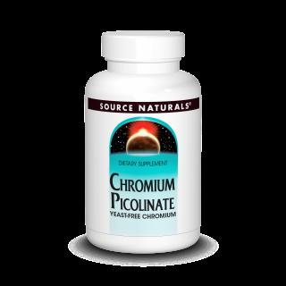 Chromium Picolinate 200 mcg (60 y 120 tabs)