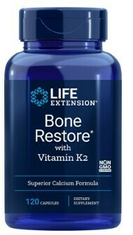 Bone Restore w/Vitamin K2 (120 caps)