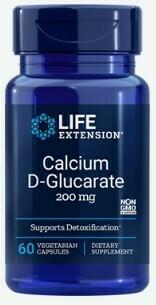 Calcium D-Glucarate 200mg (60 caps)