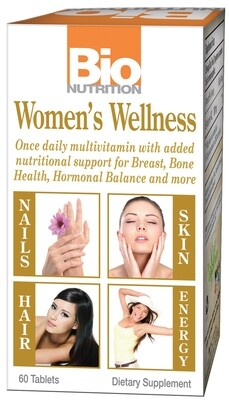 Multivitaminico Women's Wellness (60 Tabletas)