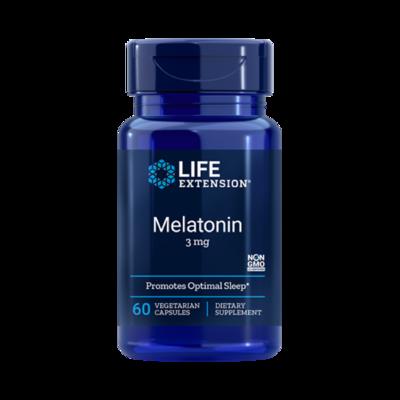 Melatonin 3 mg (60 veg. caps)