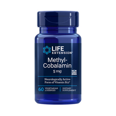 Methyl-Cobalamin (B-12) 5 mg (60 Veg. Lozenges)