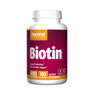 Biotin 5,000mcg (100 caps)