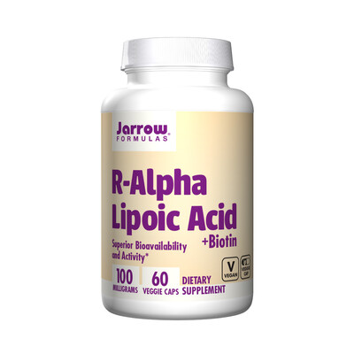 R-Alpha Lipoic Acid + Biotin (60 veg. caps)