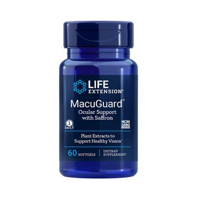 MacuGuard w/Saffron 60 SOFTGELS