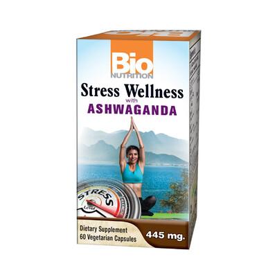 Stress Wellness w/Ashwagandha (60 veg. caps)