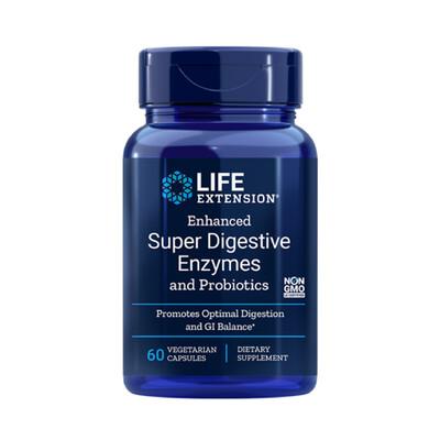 Enh. Super Digestive Enzymes and Probiotics (60 veg. caps)